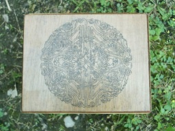 Celtic Wheel Knot Altar Box