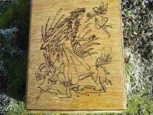 Rusalka Princess Fairy Altar Box