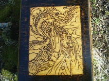 Wizard Dragon Altar Box