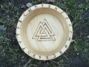 Viking Wooden Blot Bowl