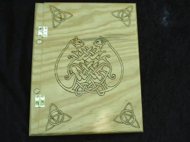 Celtic Cat Book of Shadows