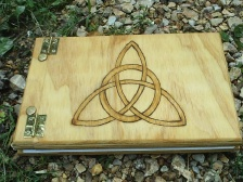 Celtic Triquetra Small Book of Shadows
