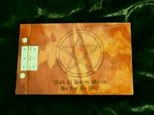 Personal Pentagram Book of Shadows Small