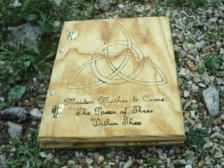 Charmed Triquetra Book of Shadows