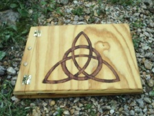 Triquetra Large Book of Shadows