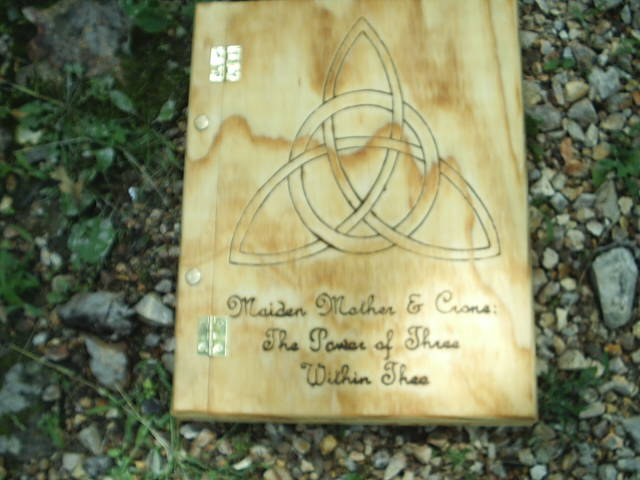 The Protection of the Goddess, Ancient and Proven, The Crone Mother and Maiden elements of three