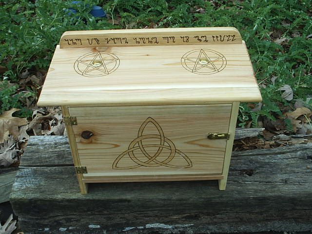 Each Wiccan Altar Is Crafted As It Was To Be My Own