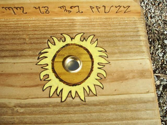 Sun Candle Holder