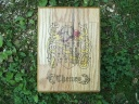 Custom Made Family Crest 10 X 8 Oak Boxes