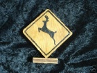 Deer Crossing Desk Accent Scroll