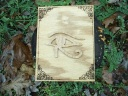 Eye of Thoth Wood Scroll