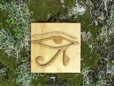 Horus Eye of Knowledge Scroll