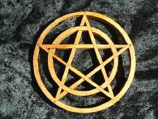 Pentacle Scroll Stand
