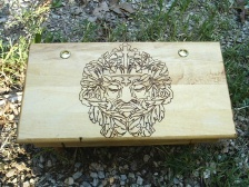Oak King Greenman Altar