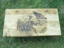 Wolf Scenery Altar Table