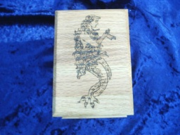 Mermaid Classic Oak Accent Box