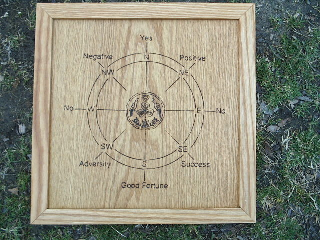 Good Luck Hex Signs Pendulum Charts Board By Dragonoak