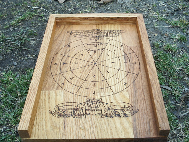 Casting Board For The Viking Runes By Dragonoak