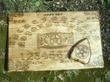 Custom Ouija Style Wood Board