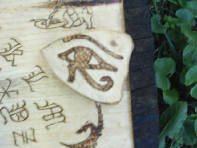 Solid Wood Planchette