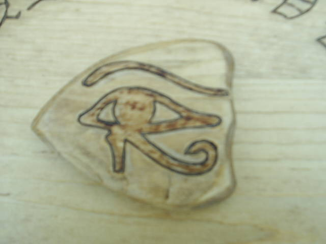 Eye of Horus on the Planchette
