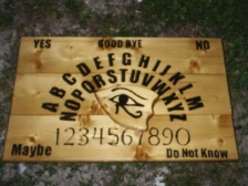Solid Wood Ouija Boards