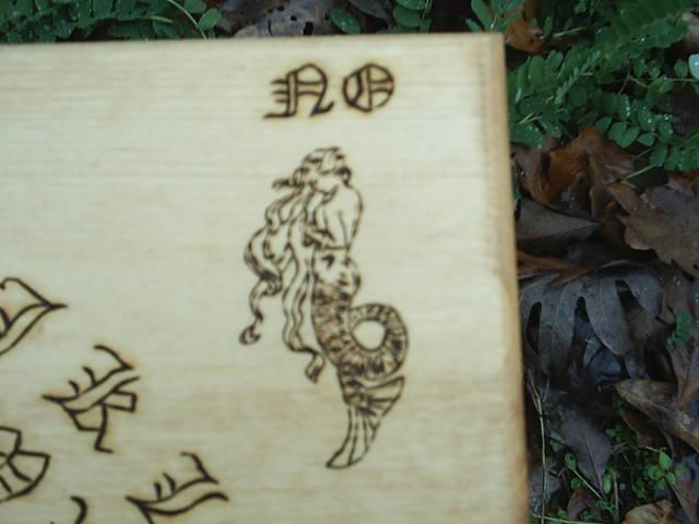 Mermaid style faery
