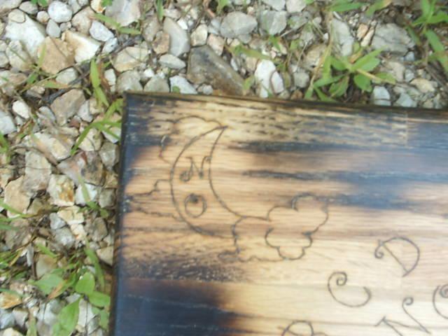 Gothic Undead Spirit Board Moon Symbol