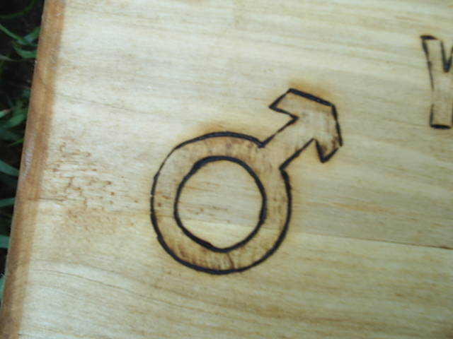Mars symbol of the masculine