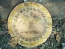 Round Owl 19inch Oak Spirit Board