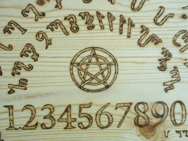 Pentacle in center