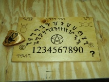 Theban Alphabet Ouija Type Spirit Boards