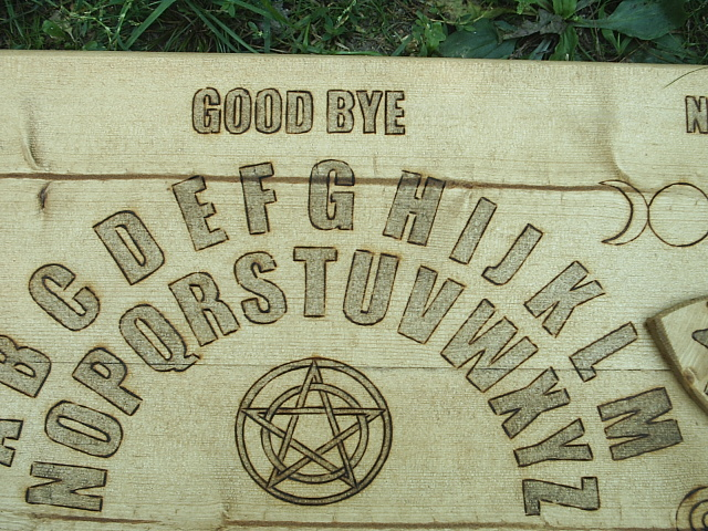 Good Bye for closing seance discussion with spirits from beyond.