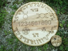 Witches Theban Talking Board