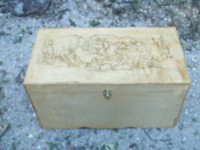 The perfect hunters box, even Ted Nugent would be proud of this piece
