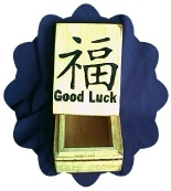 Chinese Symbol For Good Luck Tarot Box