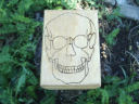 Gothic Occult Skull Tarot Box