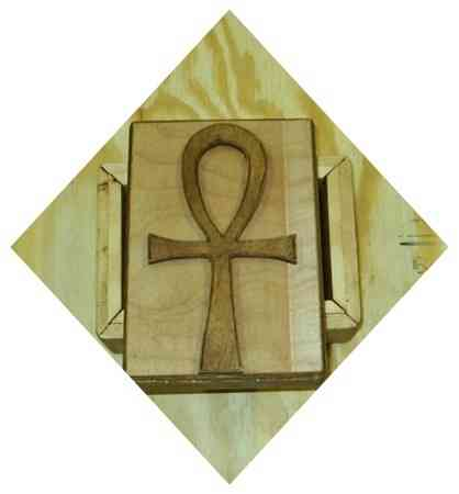 Egyptian Ankh Wood Tarot Cards Box Egyptian Ankh Symbolism History