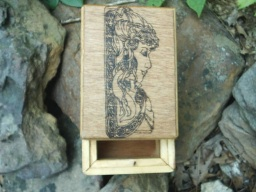 Anglo Celtic Goddess Tarot Box