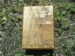 Solitude Searching Hermit Tarot Box