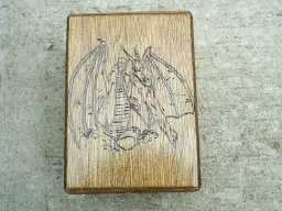 Myth Dragon Fantasy Tarot Box