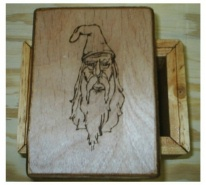 Hogwarts Wizard Potter Tarot Box