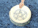 Pentagram Wicca Symbol Tribal Necklace
