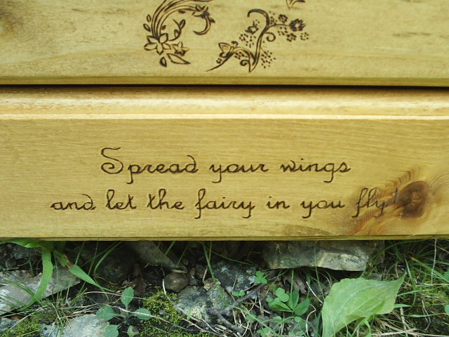 Spread your wings and let the fairy in you fly