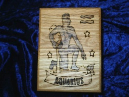 Aquarius Zodiac Tarot Box