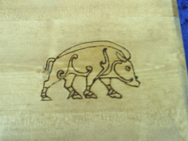 Boar is the Symbol for Freya