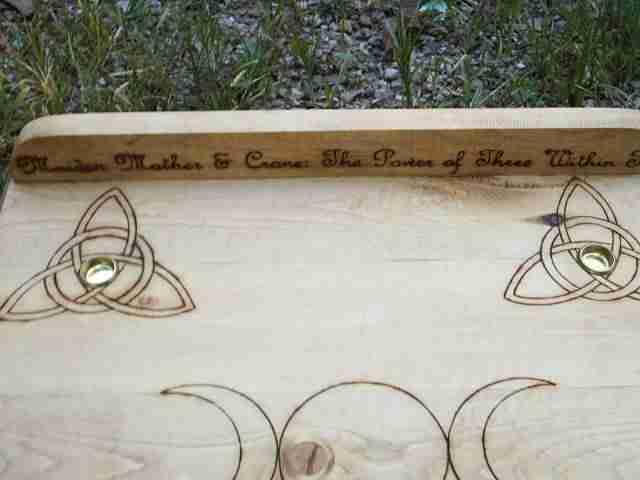 Charmed Symbol Altar