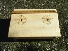 Wiccan Pentacle Witch Altar