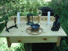 Pagan Ritual Altars