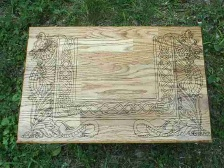 Coven Dragon Altar in Oak